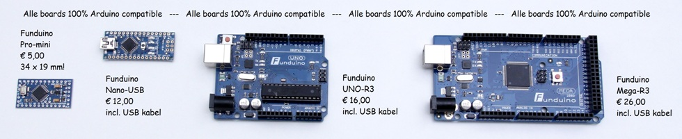 Funduino Boards
